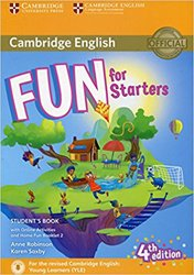 Fun for Starters - Student's Book with Online Activities with Audio and Home Fun Booklet 2