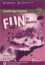 Fun for Movers - Teacher's Book with Downloadable Audio