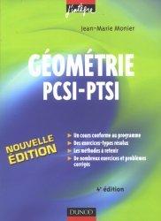Géométrie PCSI - PTSI