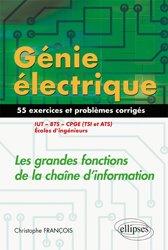 Génie électrique - Exercices et problèmes corrigés