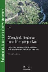 Géologie de l'ingénieur : actualités et perspectives