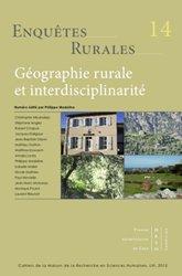 Géographie rurale et interdisciplinarité