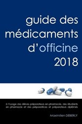 Guide des Médicaments d'Officine 2018
