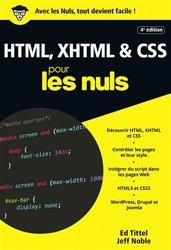 HTML, XHTML & CSS pour les nuls