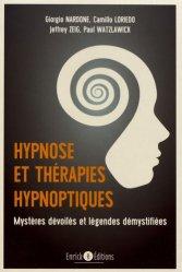 Hypnose et thérapie hypnotique
