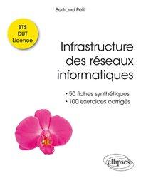 Infrastructure des réseaux informatiques - 50 fiches synthétiques et 100 exercices corrigés BTS-DUT-Licence