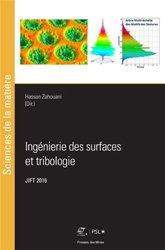 Ingénierie des surfaces et tribologie