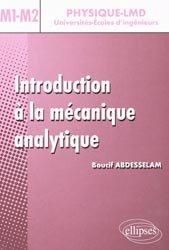 Introduction à la mécanique analytique