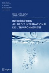 Introduction au droit international de l'environnement