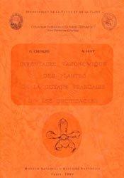 Inventaire taxonomique des plantes de la Guyane française  Tome 2 -  Les Orchidacees