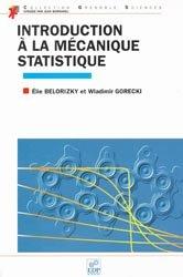 Introduction à la mécanique statistique