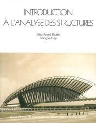 Introduction à l'analyse des structures