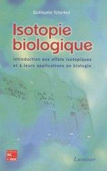 Isotopie biologique