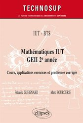 IUT - BTS - Mathématiques IUT GEII 2e année -