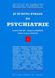 Je m'auto-évalue en psychiatrie