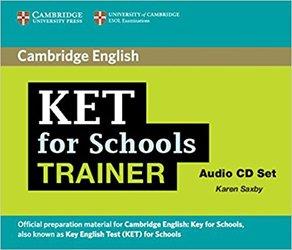 KET for Schools Trainer - Audio CDs (2)
