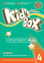 Kid's Box Level 4 - Presentation Plus DVD-ROM British English