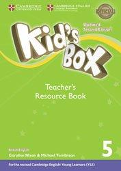 Kid's Box Level 5 - Teacher's Resource Book with Online Audio British English
