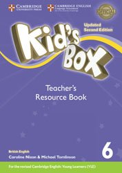 Kid's Box Level 6 - Teacher's Resource Book with Online Audio British English