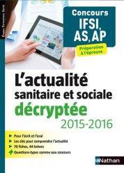 L'actualité sanitaire et sociale décryptée 2014-2015