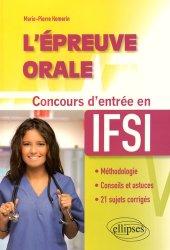 L'épreuve orale - Concours d'entrée en IFSI