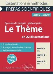 L'Amour en 23 Dissertations - Epreuve de Français / - Philosophie Prépas Scientifiques 2019-2020