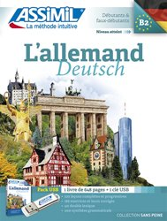 Pack USB - L'Allemand - Deutsch - Débutants et Faux-débutants