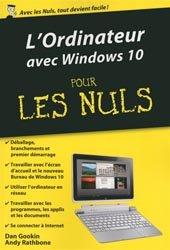 L'ordinateur avec Windows 10 pour les Nul