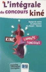 L'intégrale du concours Kiné