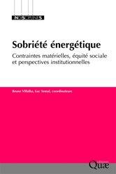 La sobriété énergétique : contraintes matérielles, équité sociale et perspectives institutionnelles