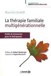La thérapie familiale multigénérationnelle