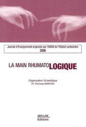 La main rhumatologique 2006