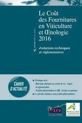 Le coût des fournitures en viticulture et oenologie 2016