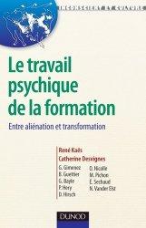 Le travail psychique de la formation - Entre aliénation et transformation