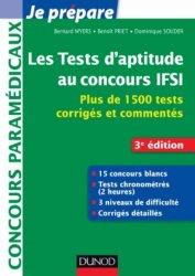 Les tests d'aptitude aux concours d'entrée en IFSI