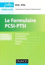 Le formulaire PCSI-PTSI