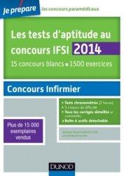 Les tests d'aptitude aux concours IFSI 2014
