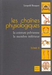 Les chaînes physiologiques Tome 2