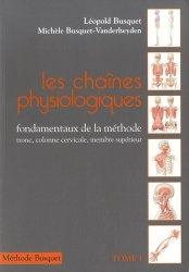 Les chaînes Physiologiques Tome 1