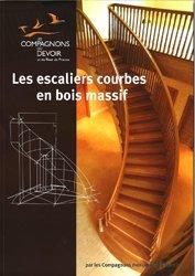 Les escaliers courbes en bois massif