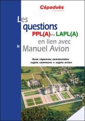 Les questions PPL(A) ou LAPL(A) en lien avec le Manuel du pilote Avion - conforme AESA