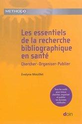 Les essentiels de la recherche bibliographique en santé