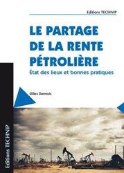 Le partage de la rente pétrolière