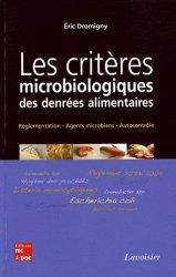 Les critères microbiologiques des denrées alimentaires