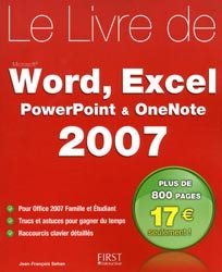 Le livre Word, Excel, Powerpoint, OneNote 2007
