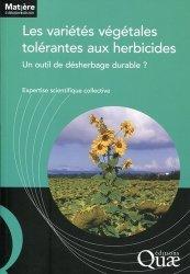 Les varietés végétales tolérantes aux herbicides