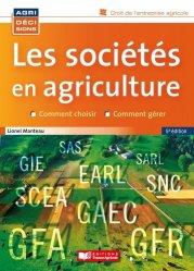 Les sociétés en agriculture