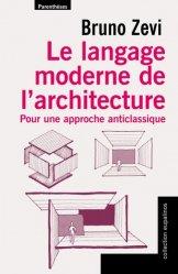 Le langage moderne de l'architecture