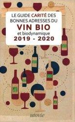 Le Guide Carité des bonnes adresses du vin et biodynamique 2019-2020