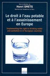 Le droit à l'eau potable et à l'assainissement en Europe